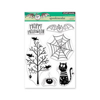 Penny Black - Halloween - Clear Photopolymer Stamps - Spooktacular