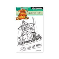 Penny Black - Halloween - Clear Photopolymer Stamps - Pumpkin Party