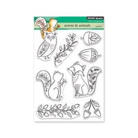 Penny Black - Clear Photopolymer Stamps - Acorns and Animals
