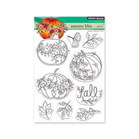 Penny Black - Clear Photopolymer Stamps - Autumn Bliss
