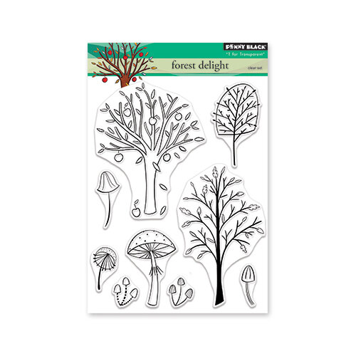 Penny Black - Clear Photopolymer Stamps - Forest Delight