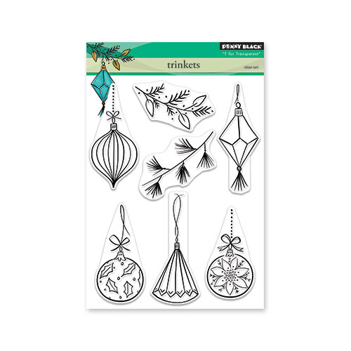 Penny Black - Christmas - Clear Photopolymer Stamps - Trinkets