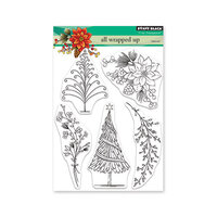 Penny Black - Christmas - Clear Photopolymer Stamps - All Wrapped Up
