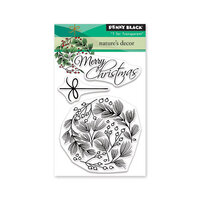 Penny Black - Christmas - Clear Photopolymer Stamps - Nature's Decor