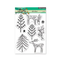 Penny Black - Christmas - Clear Photopolymer Stamps - Oh Deer