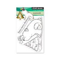 Penny Black - Christmas - Clear Photopolymer Stamps - Team Work
