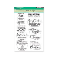 Penny Black - Christmas - Clear Photopolymer Stamps - Thrill Of Hope