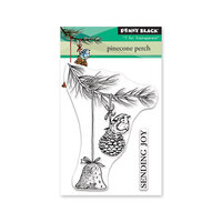 Penny Black - Christmas - Clear Photopolymer Stamps - Pinecone Perch