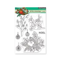 Penny Black - Christmas - Clear Photopolymer Stamps - All The Trimmings