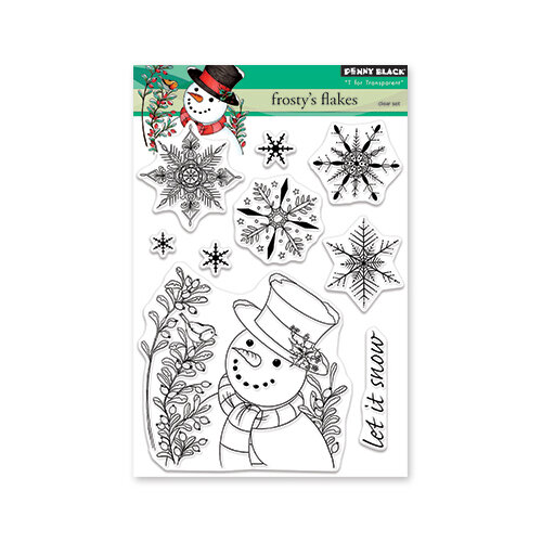 Penny Black - Christmas - Clear Photopolymer Stamps - Frosty
