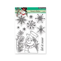 Penny Black - Christmas - Clear Photopolymer Stamps - Frosty's Flakes