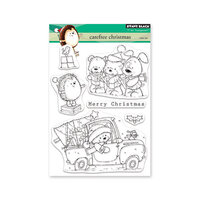 Penny Black - Clear Photopolymer Stamps - Carefree Christmas