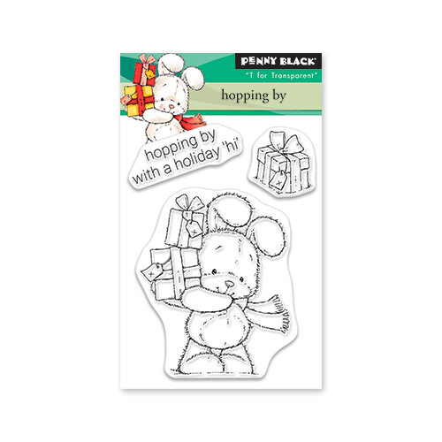 Penny Black - Christmas - Clear Photopolymer Stamps - Hopping By