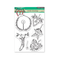 Penny Black - Christmas - Clear Photopolymer Stamps - Trendy Trimmings