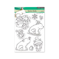 Penny Black - Christmas - First Snow Collection - Clear Photopolymer Stamps - Festive Frolic