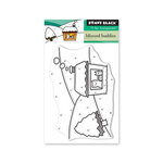 Penny Black - Christmas - First Snow Collection - Clear Photopolymer Stamps - Blizzard Buddies