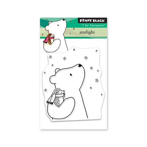 Penny Black - Christmas - First Snow Collection - Clear Photopolymer Stamps - Starlight