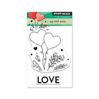 Penny Black - Share The Love Collection - Clear Photopolymer Stamps - Up And Away