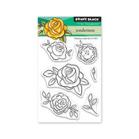 Penny Black - Share The Love Collection - Clear Photopolymer Stamps - Tenderness