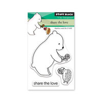 Penny Black - Share The Love Collection - Clear Photopolymer Stamps - Share The Love