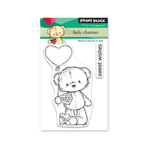 Penny Black - Share The Love Collection - Clear Photopolymer Stamps - Little Charmer