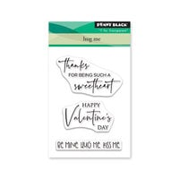 Penny Black - Share The Love Collection - Clear Photopolymer Stamps - Hug Me