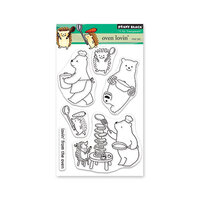 Penny Black - Secret Garden Collection - Clear Photopolymer Stamps - Oven Lovin'