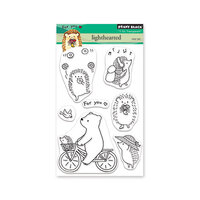 Penny Black - Secret Garden Collection - Clear Photopolymer Stamps - Lighthearted