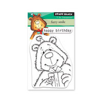 Penny Black - Secret Garden Collection - Clear Photopolymer Stamps - Furry Smile