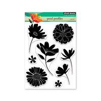 Penny Black - Secret Garden Collection - Clear Photopolymer Stamps - Petal Profiles