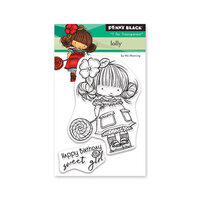 Penny Black - Secret Garden Collection - Clear Photopolymer Stamps - Lolly