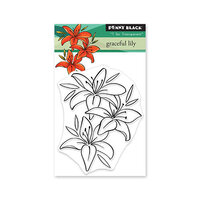 Penny Black - Clear Photopolymer Stamps - Graceful Lily
