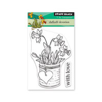 Penny Black - Secret Garden Collection - Clear Photopolymer Stamps - Daffodil Devotion