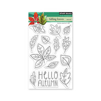 Penny Black - Clear Photopolymer Stamps - Falling Leaves