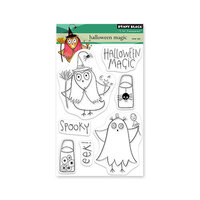 Penny Black - Clear Photopolymer Stamps - Halloween Magic