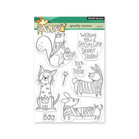 Penny Black - Clear Photopolymer Stamps - Spooky Season