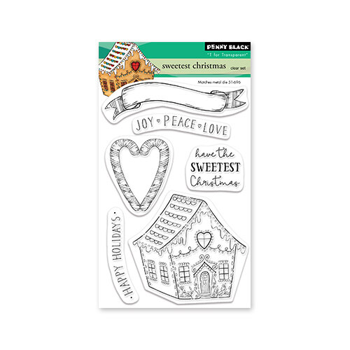 Penny Black - Clear Photopolymer Stamps - Sweet Christmas