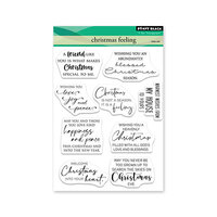 Penny Black - Clear Photopolymer Stamps - Christmas Feeling