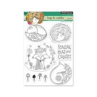 Penny Black - Clear Photopolymer Stamps - Hugs and Cuddles