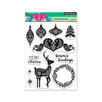 Penny Black - Clear Photopolymer Stamps - Christmas - Ornamented