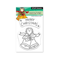 Penny Black - Clear Photopolymer Stamps - Christmas - Rejoicing Hedgie