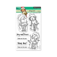 Penny Black - Clear Photopolymer Stamps - Christmas - Sing Joy
