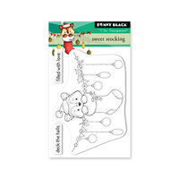 Penny Black - Clear Photopolymer Stamps - Christmas - Sweet Stocking