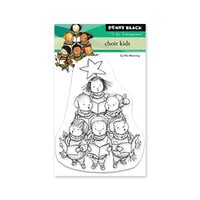 Penny Black - Clear Photopolymer Stamps - Christmas - Choir Kids