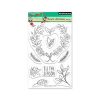 Penny Black - Clear Photopolymer Stamps - Christmas - Heart Christmas