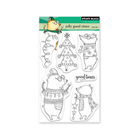 Penny Black - Clear Photopolymer Stamps - Christmas - Jolly Good Times