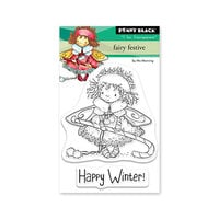 Penny Black - Clear Photopolymer Stamps - Christmas - Fairy Festive
