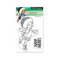 Penny Black - Clear Photopolymer Stamps - Christmas - Skating By