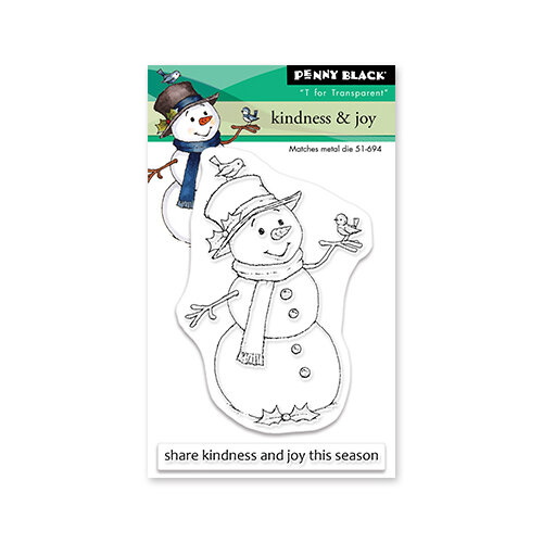Penny Black - Clear Photopolymer Stamps - Christmas - Kindness and Joy