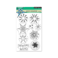 Penny Black - Clear Photopolymer Stamps - Christmas - Snow Sensation